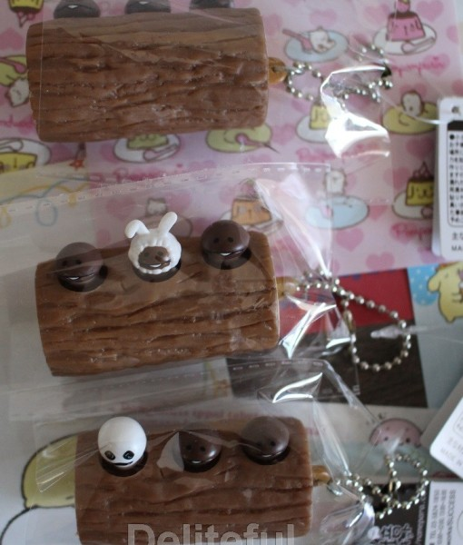Nameko Log Squeeze Toys