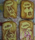 Disney Jumbo Toasts