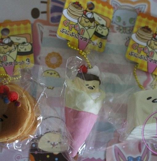 Gudetama Sweets Series