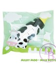 Milky Moo Matte Black Milk Bottle