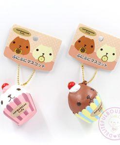 Kapibarasan Cupcake Squishies