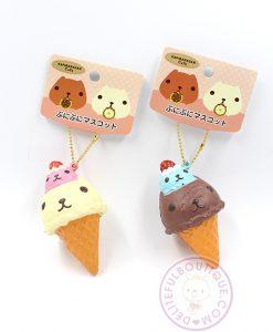 Kapibarasan Double Scoop Ice Creams