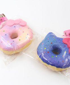 Hello Kitty Big Donut Squishy Galaxy