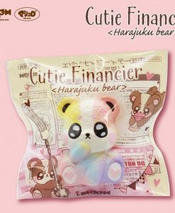 Cutie Financier Rainbow