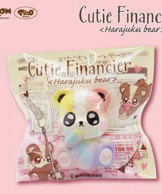 Cutie Financier Rainbow
